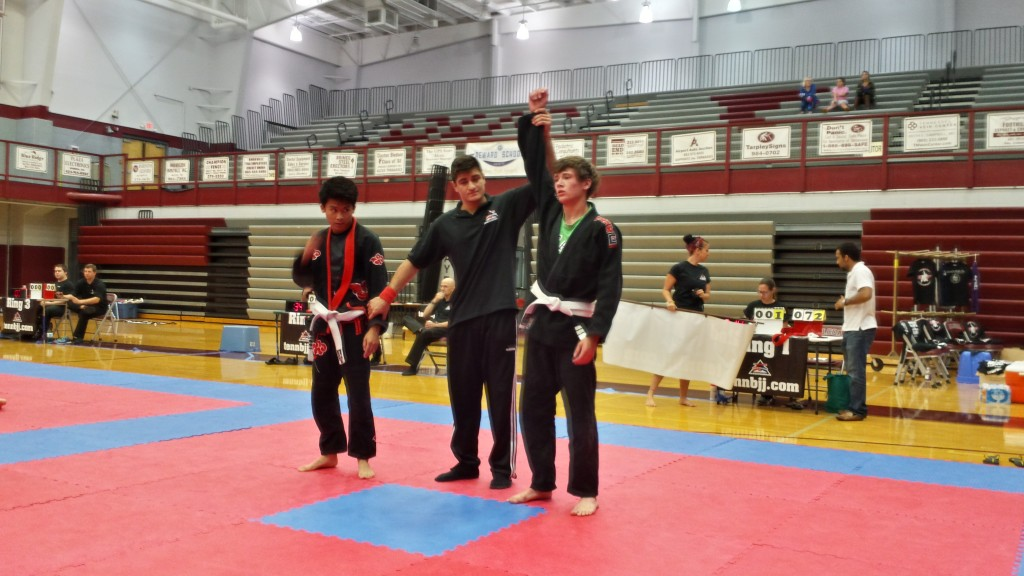 Jared wins at the TN State Jiu-Jitsu Championships