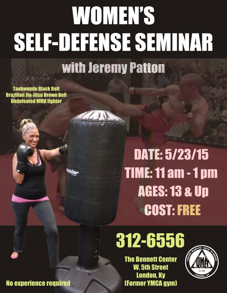 Women's Self-Defense Seminar Poster-Flyer